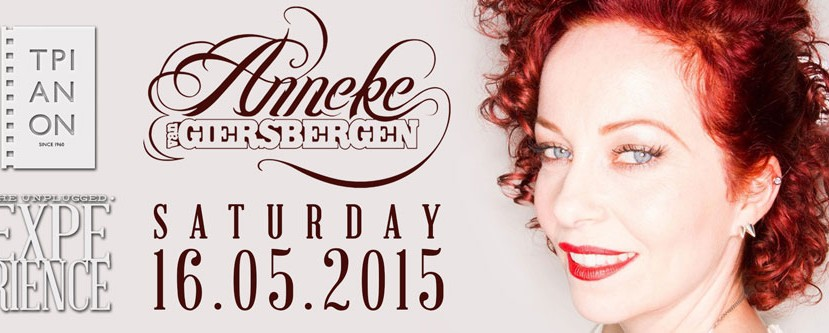 H Anneke van Giersbergen (ex-The Gathering) στο The Unplugged Experience