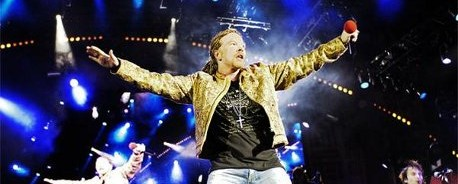 Ο Axl Rose μιλάει για τις καθυστερήσεις στις συναυλίες των Guns N' Roses