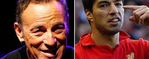 Bruce Springsteen εναντίον Luis Suarez