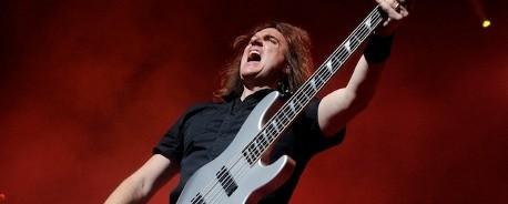 «Ευλογημένη από τον Θεό» η επιτυχία των Megadeth, σύμφωνα με τον David Ellefson