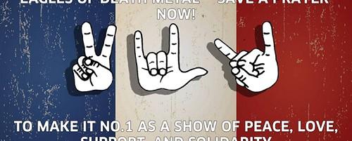 Καμπάνια για να φτάσουν οι Eagles of Death Metal στην κορυφή των βρετανικών chart