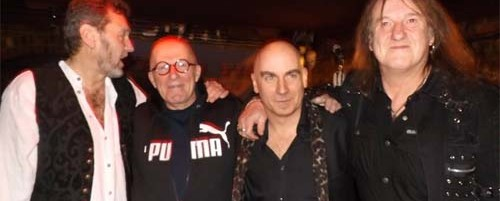 Ξανά μαζί το lineup των Iron Maiden του 1977