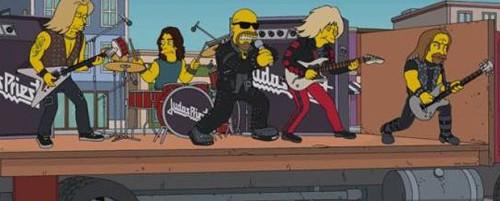 Οι Judas Priest εμφανίζονται στο τελευταίο επεισόδιο των Simpsons