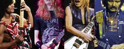 Οι 50 κορυφαίοι rock και metal κιθαρίστες