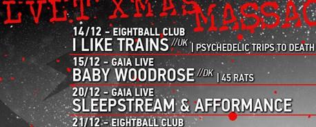 The LoveLight productions Xmas Massacre: 14-15 & 20-21 Δεκεμβρίου