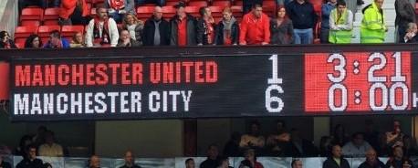 Παίκτες της Manchester United σνομπάρουν συναυλία του Noel Gallagher μετά την «εξάρα» από τη Manchester City