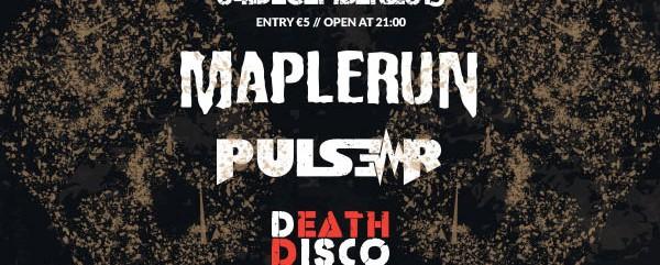 Οι Maplerun τον Δεκέμβριο στο Death Disco