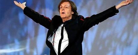 Αμοιβή μίας λίρας για τον Paul McCartney και τους Arctic Monkeys για τη συμμετοχή τους στην τελετή έναρξης των Ολυμπιακών Αγώνων