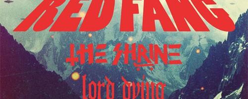 Red Fang / The Shrine / Lord Dying τον Φεβρουάριο σε Αθήνα και Θεσσαλονίκη