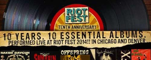 Ποιά κλασικά τους album θα παίξουν Slayer, Jane's Addiction, Offspring και Weezer στο Riot Fest;