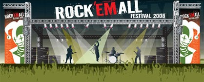 Rock 'Em All festival με Venom, Iced Earth, Lacuna Coil, Meshuggah, Moonspell και Pain Of Salvation τον Ιούλιο στην Αθήνα