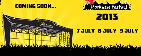 Rockwave Festival 2013: Τα μέχρι στιγμής ανακοινωθέντα ονόματα