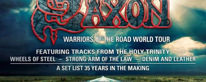 Saxon και Skid Row έρχονται σε Αθήνα και Θεσσαλονίκη τον Οκτώβριο (;)