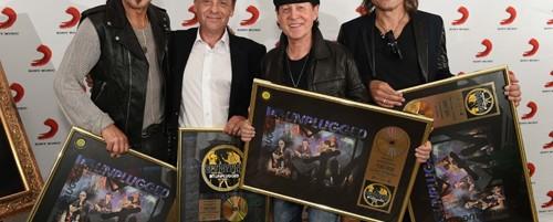 """Χρυσοί οι Scorpions στην Γερμανία με το MTV Unplugged """"Live In Athens"""""""