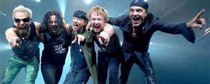 Scorpions και Βασίλης Παπακωνσταντίνου στη Λάρισα τον Ιούλιο
