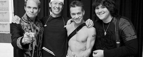 Είναι αλήθεια: Οι Van Halen στο studio!