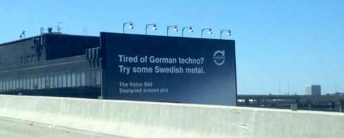 H εταιρία αυτοκινήτων Volvo το ...ρίχνει στο heavy metal