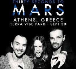 Στην Ελλάδα οι 30 Seconds To Mars