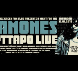 Το Ramones Greek Fan Club παρουσιάζει... A Night For The Ramones