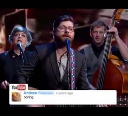 Οι Decemberists παίζουν τραγούδια εμπνευσμένα από σχόλια του Youtube