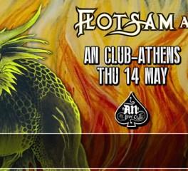 Δελτίο Τύπου: Οι Flotsam And Jetsam τον Μάιο σε Αθήνα, Θεσσαλονίκη και Λάρισα
