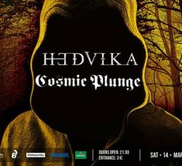 Hedvika και Cosmic Plunge ζωντανά στο Six D.O.G.S.
