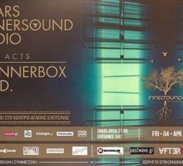 Φιλανθρωπική εκδήλωση του Innersound Radio με ζωντανές εμφανίσεις των 2L8, Gad. και Skinner Box