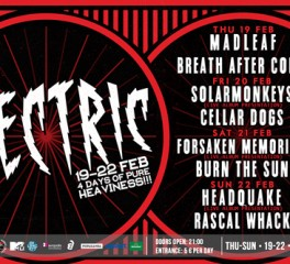 It's Electric: Τετραήμερο festival της Trailblazer Records, αφιερωμένο στο heavy rock
