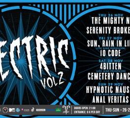 It's Electric Vol.2: Φεστιβάλ με παρουσιάσεις δίσκων στο 6 D.O.G.S.
