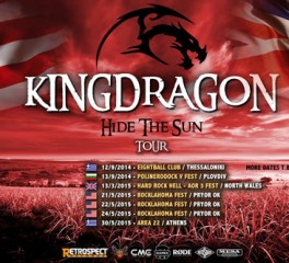 Kingdragon: H πρώτη ελληνική hard rock μπάντα που επισκέπτεται τις Η.Π.Α. και το Rocklahoma