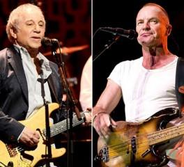 Κοινή περιοδεία θα κάνουν οι Paul Simon και Sting