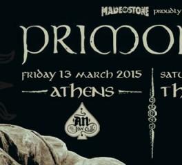 Αλλαγή ημερομηνιών για τις συναυλίες των Primordial στην Ελλάδα