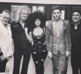 Guest εμφάνιση της Lady Gaga σε συναυλία των Queen & Adam Lambert