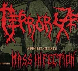 Ώρες εμφάνισης για τα live των Terrorizer L.A. & Mass Infection