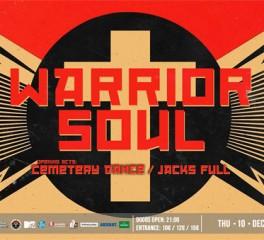 Δελτίο Τύπου: Στην Αθήνα για μία μοναδική εμφάνιση οι Warrior Soul