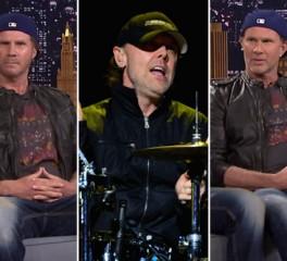 Η απάντηση του Lars Ulrich στη πρόκληση των Will Ferrell και Chad Smith (Red Hot Chili Peppers)