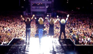 Η πρώτη συναυλία του νέου lineup των Megadeth