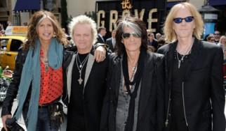 Οι Aerosmith δίνουν εικόνα στο «θρυλικό παιδί» τους
