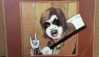 Εξώφυλλα κλασικών δίσκων υπό ένα ...black metal πρίσμα