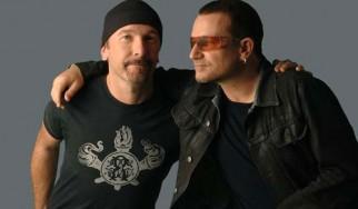 """Οι Bono και The Edge διασκευάζουν το """"Get Lucky"""""""