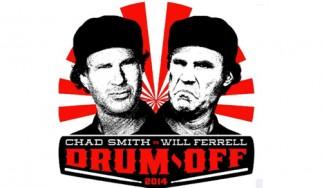 Οι άσπονδοι εχθροί Chad Smith και Will Ferrell διαγωνίστηκαν επιτέλους στα drums (video)