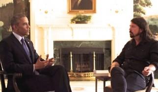 Dave Grohl: «O Barack Obama είναι ροκάς»