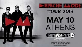 Οι τελευταίες λεπτομέρειες για τη σημερινή συναυλία των Depeche Mode