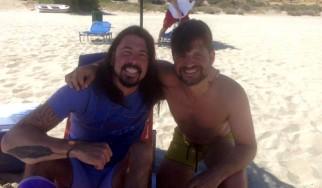 Και ο Dave Grohl ήταν στη Μύκονο!