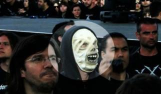 O James Hetfield παρακολουθεί incognito το show των Mastodon