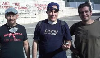Ο Jello Biafra στις πορείες της Αθήνας