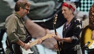 Δείτε τον Eric Clapton και τη Florence Welch (Florence + The Machine) στη σκηνή μαζί με τους Rolling Stones