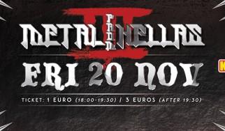 Όλες οι πληροφορίες για την τρίτη έκδοση του Metal From Hellas Festival