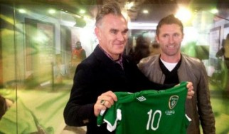 Τα ...ξαδερφάκια Morrissey και Robbie Keane