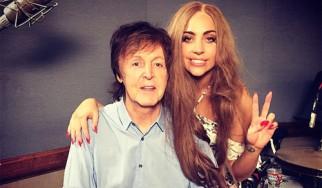 O Paul McCartney ηχογραφεί με Lady Gaga και Mike McCready